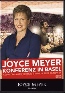 Joyce Meyer Konferenz Basel 2009 - 3er-CD-Set