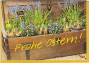 Frohe Ostern - Faltkarte