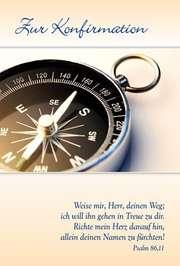Faltkarte: Weise mir, Herr, deinen Weg - Konfirmation