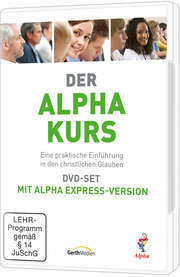 Alpha Express DVD-Set mit 5 DVDs