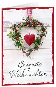 CD-Card: Gesegnete Weihnachten
