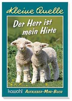 """Aufkleber-Mini-Buch """"Der Herr ist mein Hirte"""""""