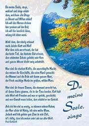 Postkarten: Du meine Seele, singe, 4 Stück
