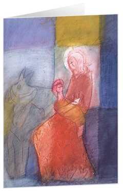 """Kunstkarten """"Bethlehem"""" - 5 Stk."""